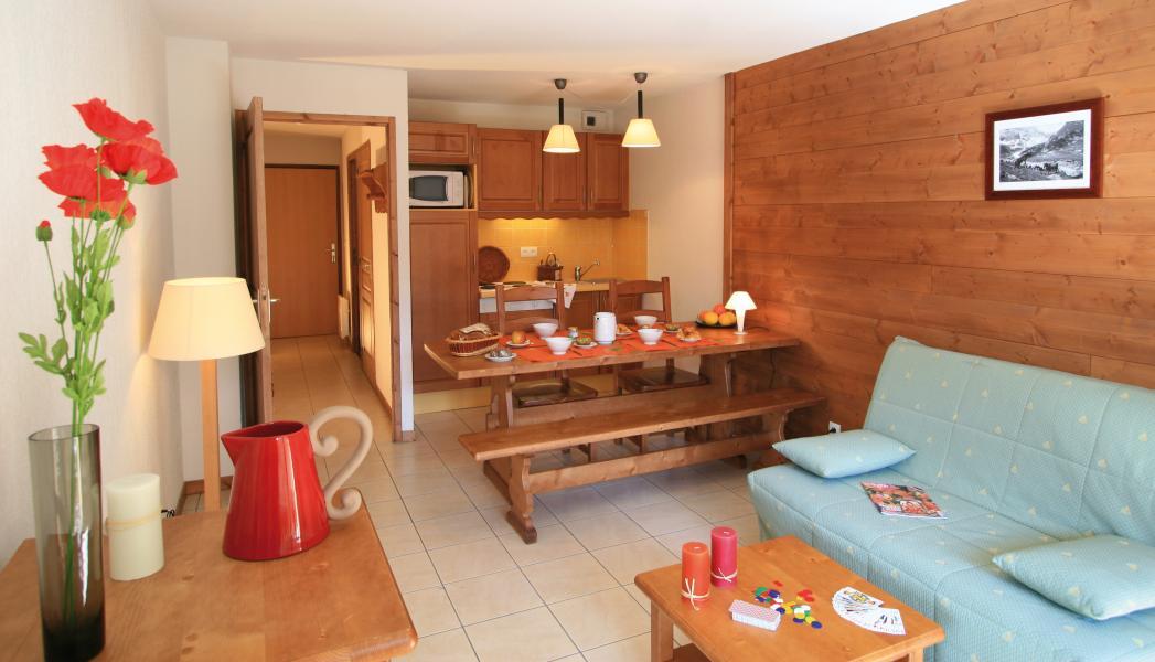 Urlaub in den Bergen Résidence Lagrange l'Arollaie - Peisey-Vallandry - Sofa