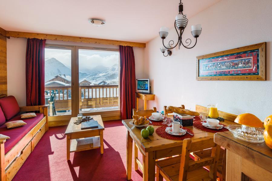 Vacances en montagne Résidence Lagrange l'Ecrin des Sybelles - La Toussuire - Coin repas