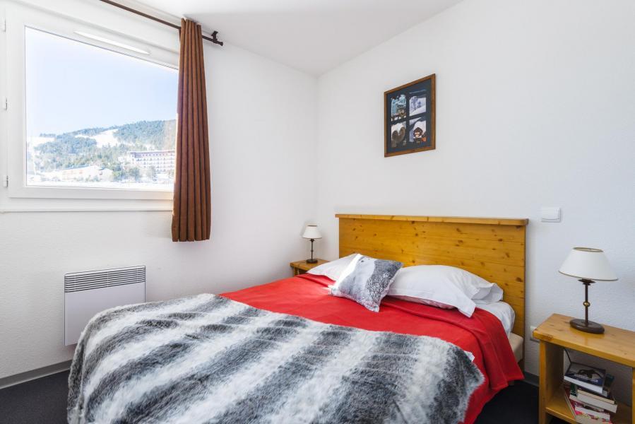 Urlaub in den Bergen Résidence Lagrange l'Orée des Cimes - Les Angles - Doppelbett