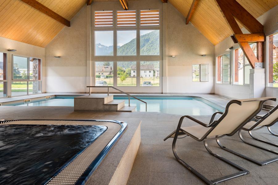 Urlaub in den Bergen Résidence Lagrange le Belvédère - Luchon-Superbagnères - Whirlpool