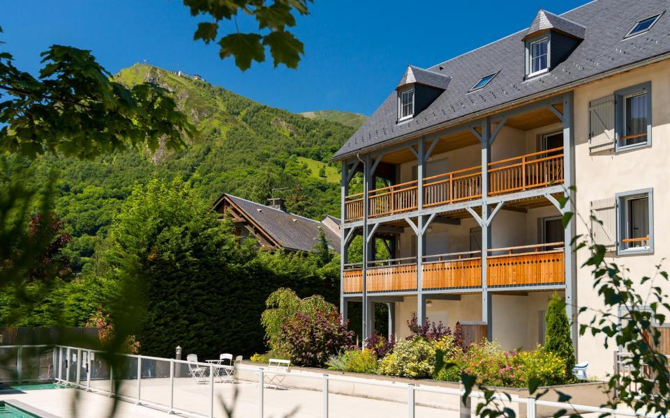 Location au ski Résidence Lagrange le Clos Saint Hilaire - Saint Lary Soulan - Extérieur été