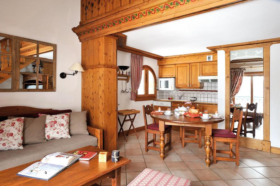 Urlaub in den Bergen Résidence Lagrange le Cristal d'Argentière - Chamonix - Essbereich