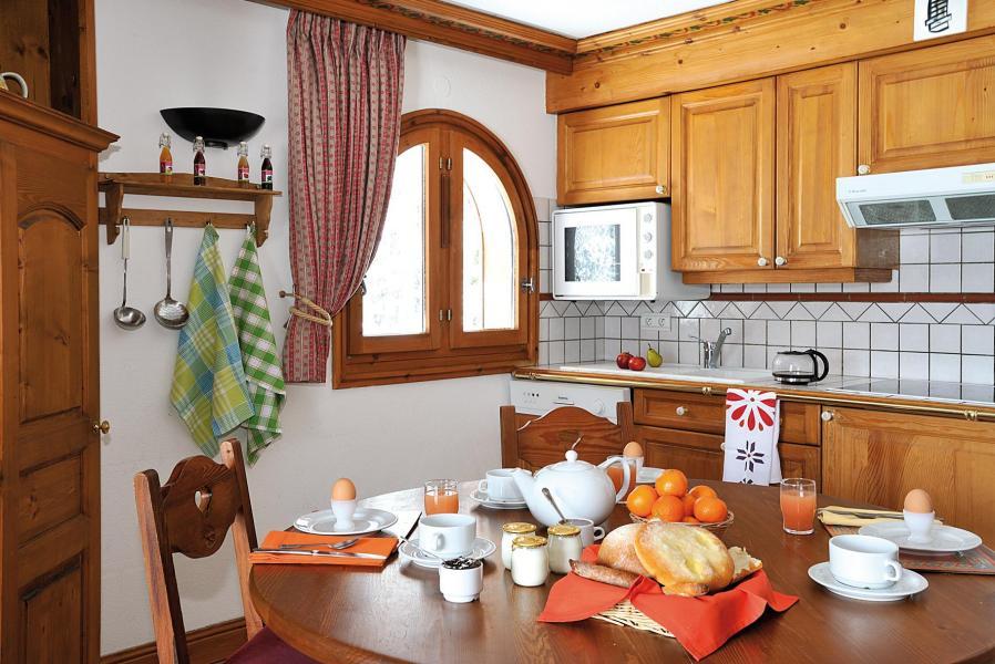 Urlaub in den Bergen Résidence Lagrange le Cristal d'Argentière - Chamonix - Küche