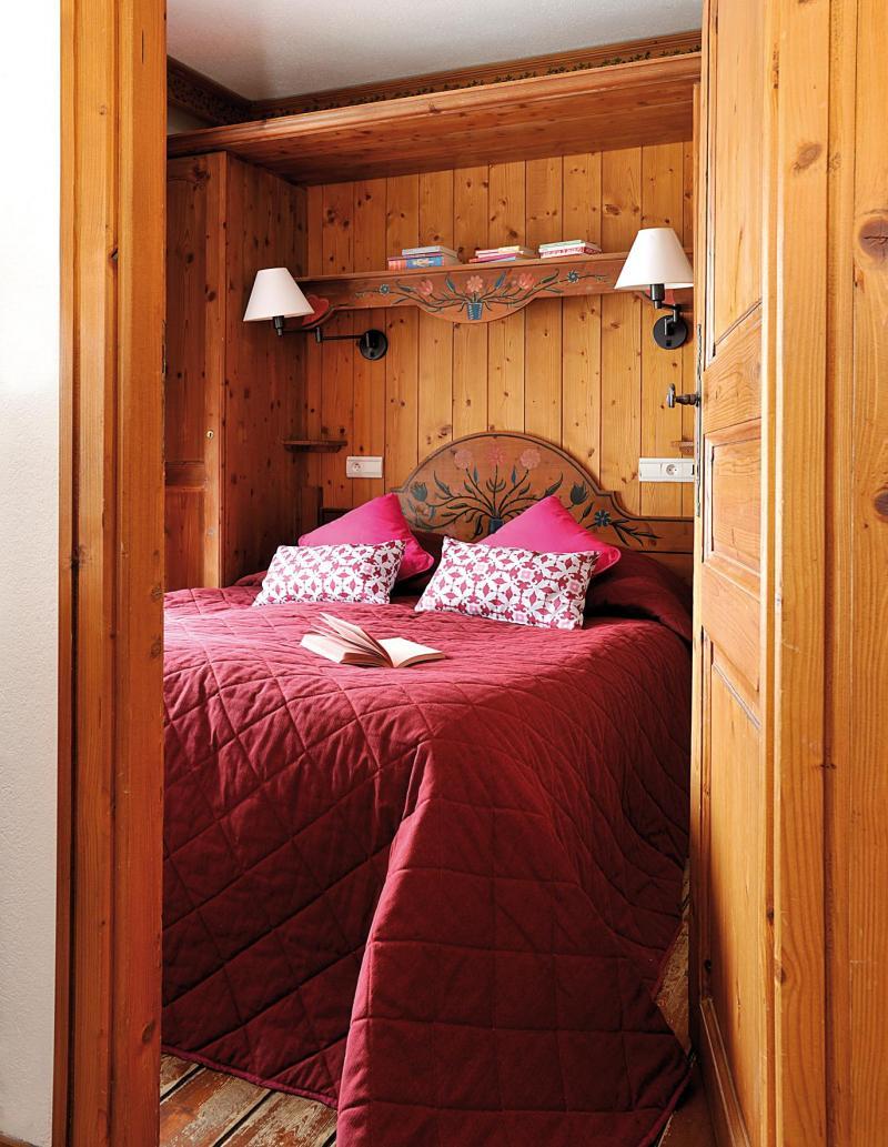 Urlaub in den Bergen Résidence Lagrange le Cristal d'Argentière - Chamonix - Schlafzimmer