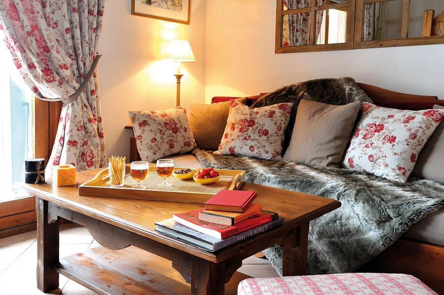 Urlaub in den Bergen Résidence Lagrange le Cristal d'Argentière - Chamonix - Sofa