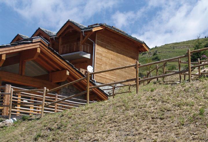 Rent in ski resort Résidence Lagrange le Grand Panorama 2 - Valmeinier - Summer outside