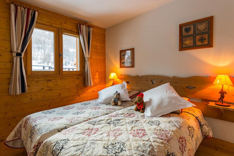 Urlaub in den Bergen Résidence Lagrange le Hameau du Rocher Blanc - Serre Chevalier - Schlafzimmer