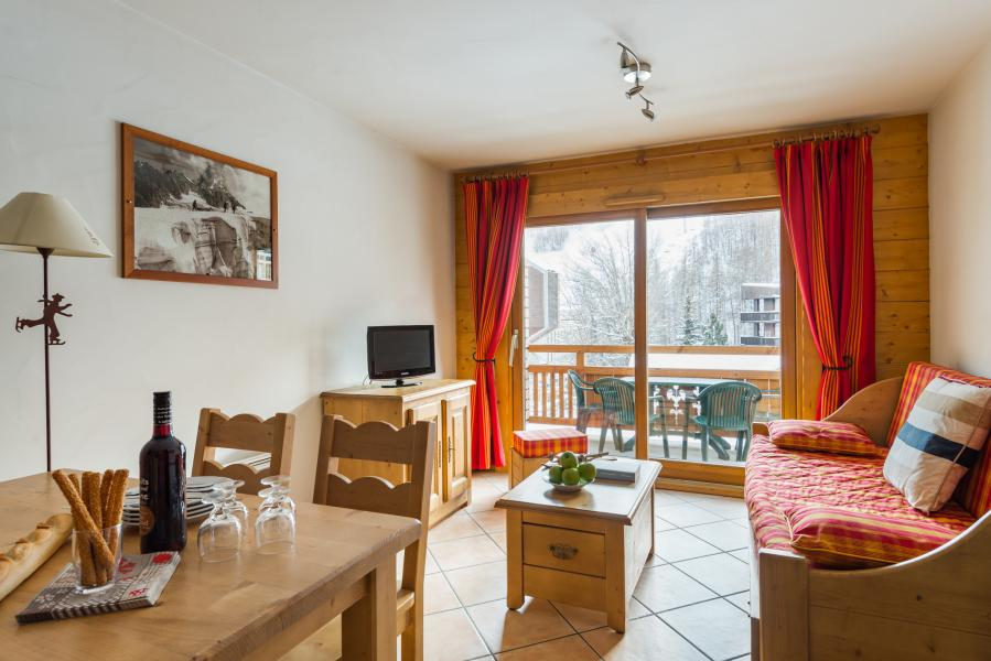 Urlaub in den Bergen Résidence Lagrange le Hameau du Rocher Blanc - Serre Chevalier - Wohnzimmer