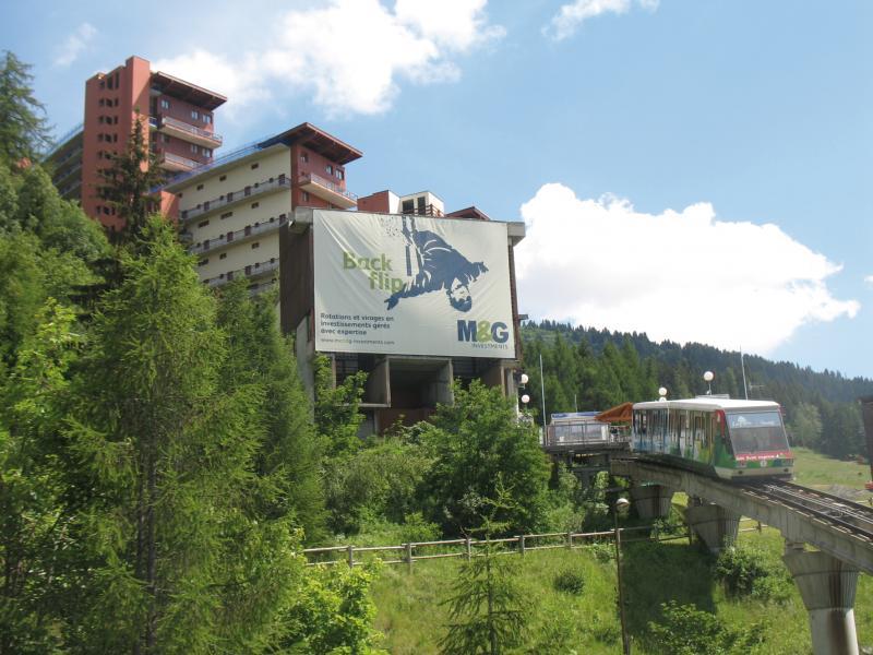 Alquiler al esquí Résidence Lagrange le Roc Belle Face - Les Arcs - Verano