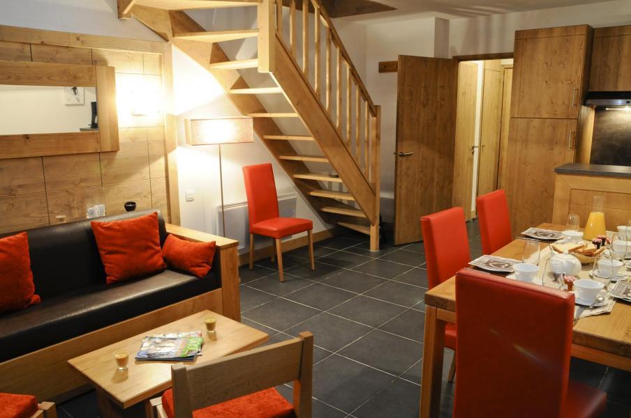 Urlaub in den Bergen Résidence Lagrange le Roc Belle Face - Les Arcs - Wohnzimmer