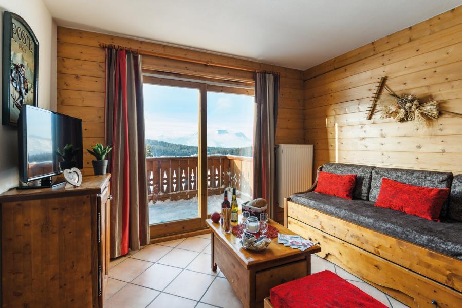 Urlaub in den Bergen Résidence Lagrange le Village des Lapons - Les Saisies - Sitzbank