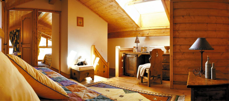 Urlaub in den Bergen Résidence Lagrange le Village des Lapons - Les Saisies - Wohnzimmer