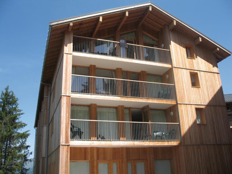 Location au ski Residence Lagrange Les 3 Glaciers - Montchavin - La Plagne - Extérieur été