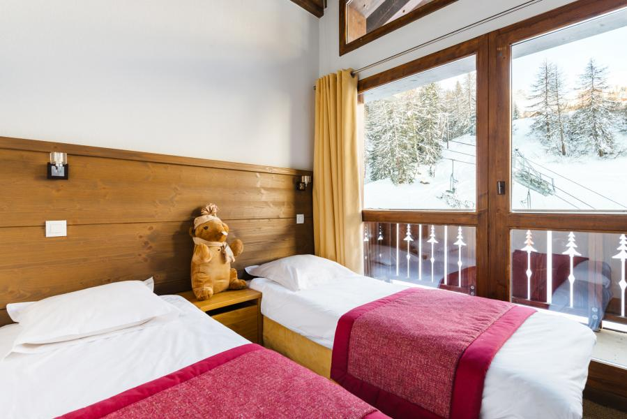 Urlaub in den Bergen Résidence Lagrange les Chalets d'Edelweiss - La Plagne - Einzelbett