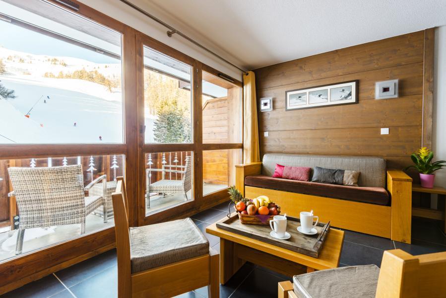 Urlaub in den Bergen Résidence Lagrange les Chalets d'Edelweiss - La Plagne - Sofa