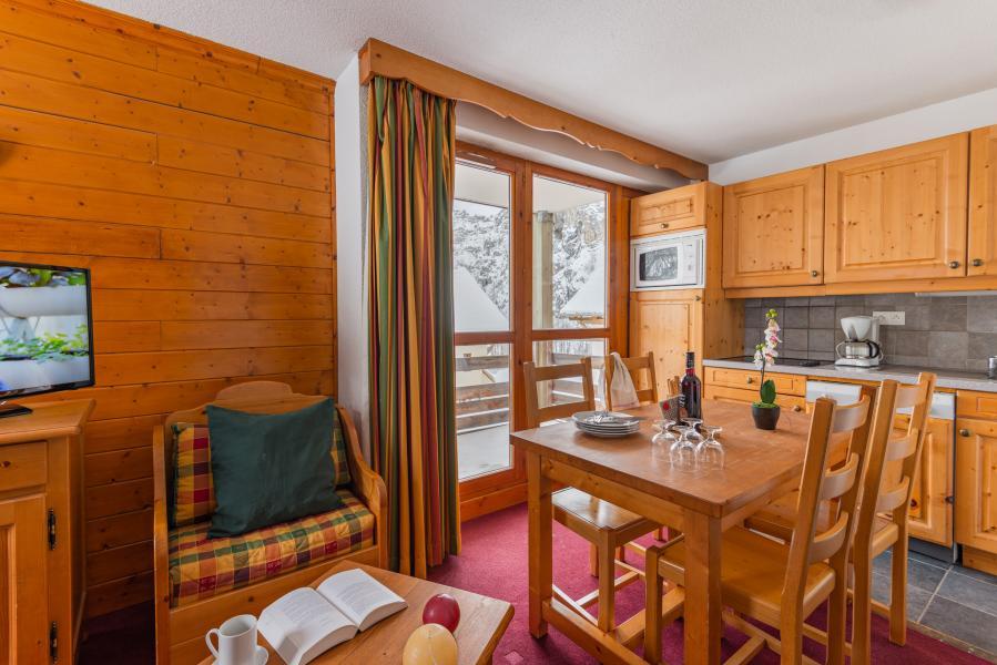 Urlaub in den Bergen Résidence Lagrange les Chalets du Galibier - Valloire - Küche