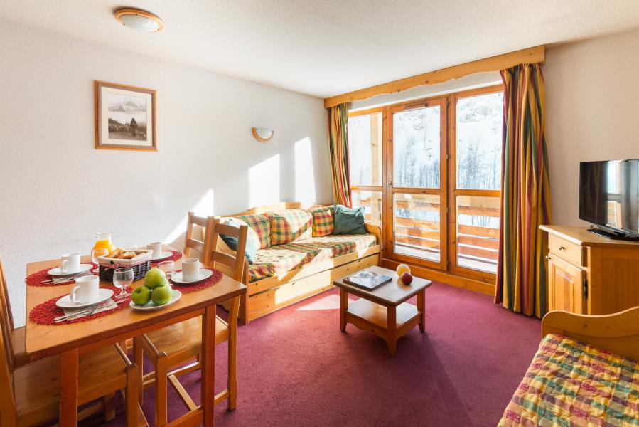 Urlaub in den Bergen Résidence Lagrange les Chalets du Galibier - Valloire - Wohnzimmer
