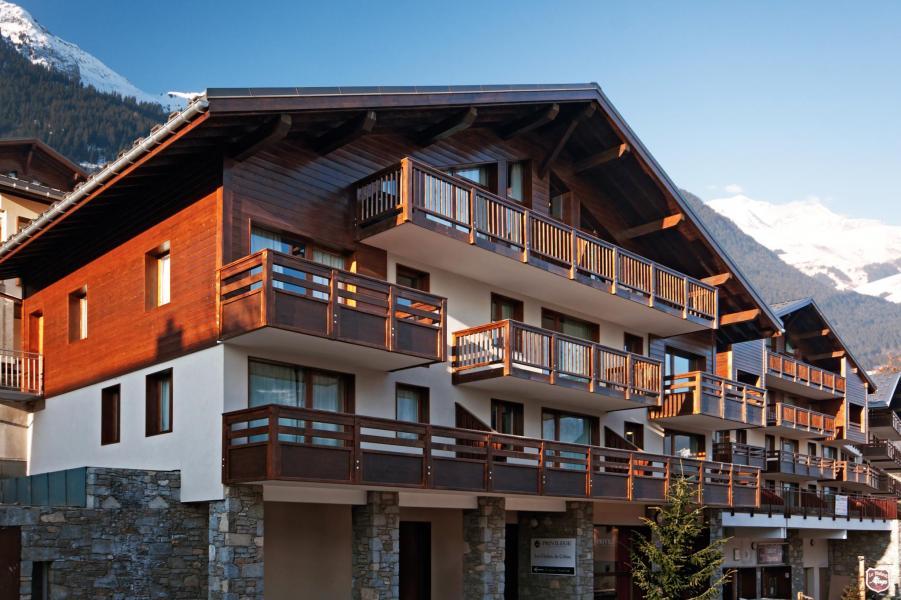 Wynajem na narty Résidence Lagrange les Chalets du Mont Blanc - Les Saisies - Na zewnątrz latem