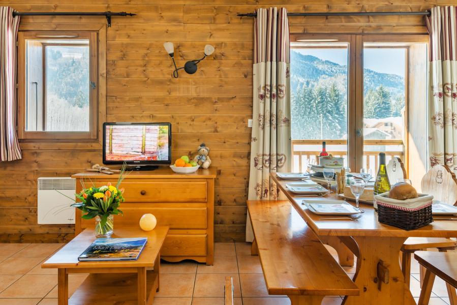 Vacances en montagne Résidence Lagrange les Fermes de Samoëns - Samoëns - Tv à écran plat