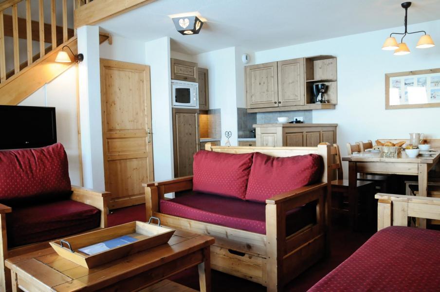 Urlaub in den Bergen Résidence Lagrange les Hauts de Comborcière - La Toussuire - Sofa