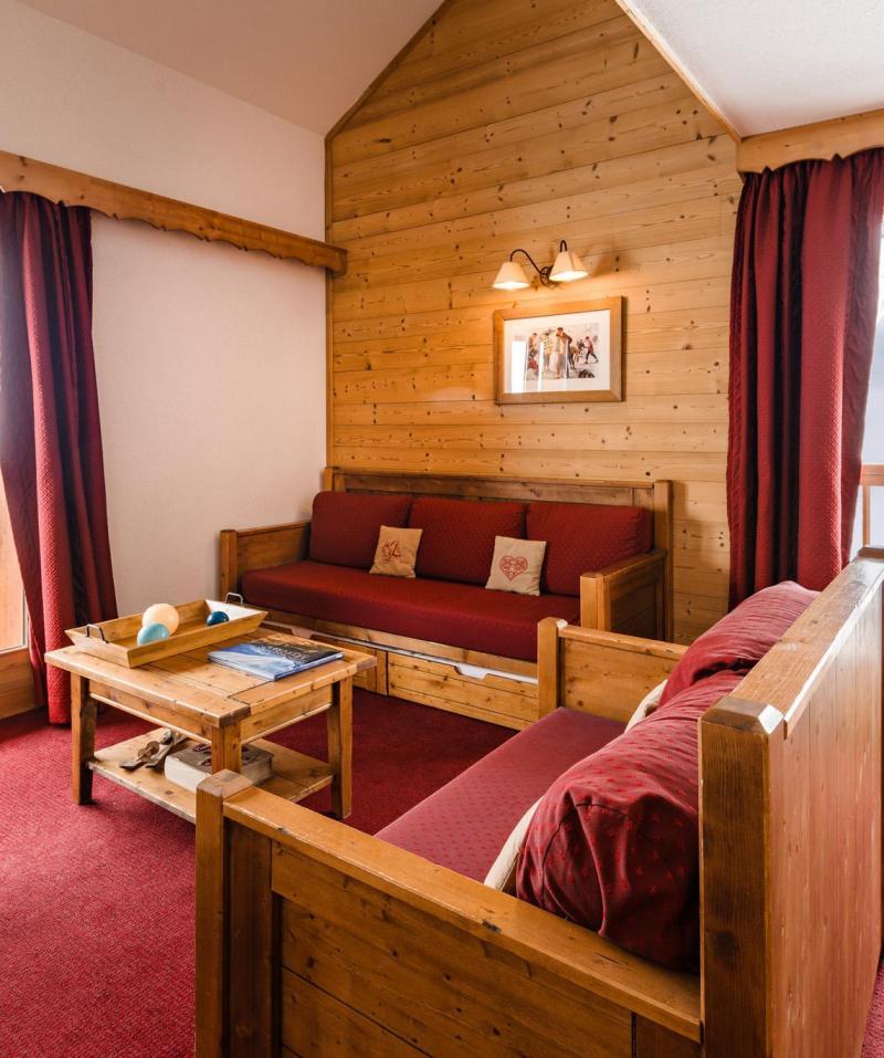 Urlaub in den Bergen Résidence Lagrange les Hauts de Comborcière - La Toussuire - Wohnzimmer