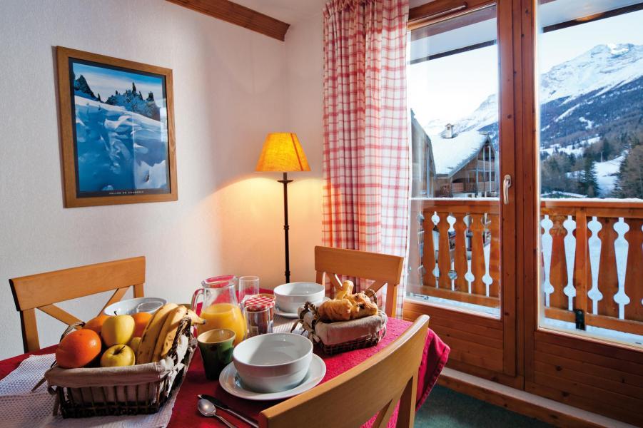 Vakantie in de bergen Résidence Lagrange les Valmonts de Val Cenis - Val Cenis - Eethoek