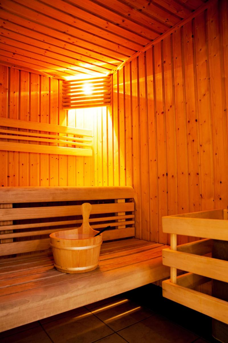 Vakantie in de bergen Résidence Lagrange les Valmonts de Val Cenis - Val Cenis - Sauna