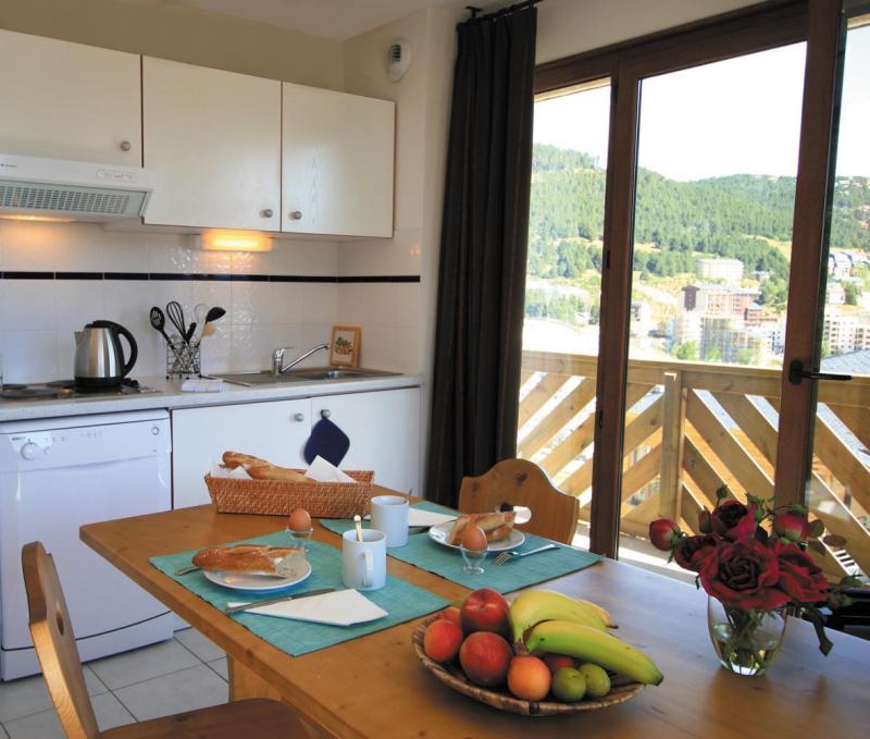 Vacances en montagne Résidence Lagrange Prat de Lis - Les Angles - Kitchenette
