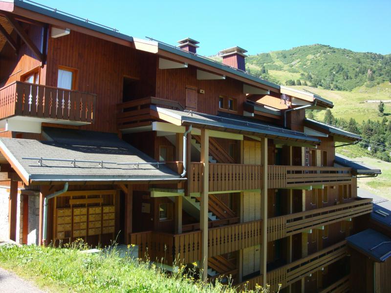 Ski verhuur Appartement 3 kamers 6 personen (007) - Résidence Lama - Méribel-Mottaret - Buiten zomer