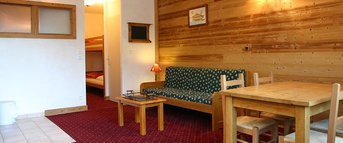 Holiday in mountain resort 2 room apartment 4 people (5) - Résidence Lautaret 5 - Coprotel - Les 2 Alpes