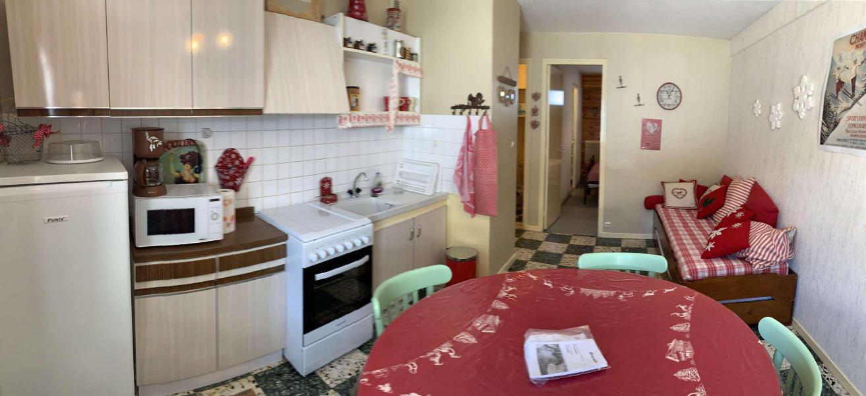 Wakacje w górach Apartament 3 pokojowy 6 osób (244) - Résidence le Bal des Neiges - Vars - Pokój gościnny