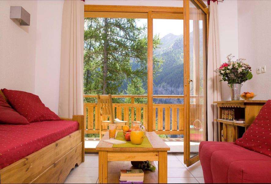 Holiday in mountain resort Résidence le Balcon des Airelles - Les Orres - Living area