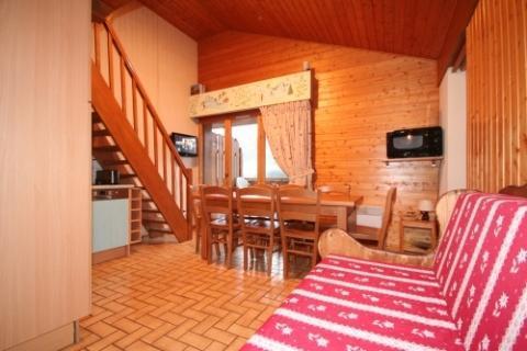 Vacaciones en montaña Apartamento dúplex 3 piezas 6 personas (5) - Résidence le Balcon des Alpes - Châtel