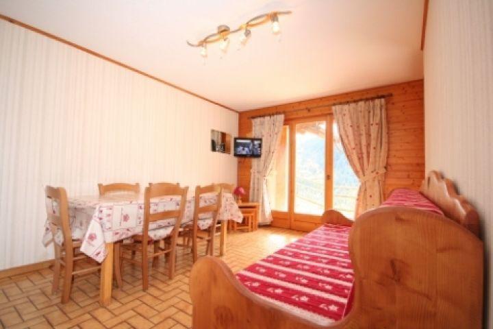 Vacaciones en montaña Apartamento cabina 2 piezas para 5 personas (1) - Résidence le Balcon des Alpes - Châtel - Sofá-cama