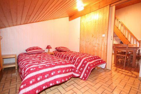 Vacaciones en montaña Apartamento dúplex 3 piezas 6 personas (5) - Résidence le Balcon des Alpes - Châtel - Cama individual