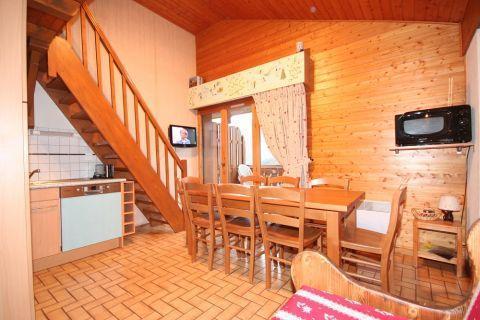 Vacaciones en montaña Apartamento dúplex 3 piezas 6 personas (5) - Résidence le Balcon des Alpes - Châtel - Escalera