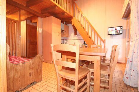 Vacaciones en montaña Apartamento dúplex 3 piezas 6 personas (5) - Résidence le Balcon des Alpes - Châtel - Mesa