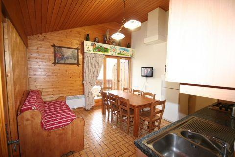 Vacaciones en montaña Apartamento dúplex 4 piezas 8 personas (6) - Résidence le Balcon des Alpes - Châtel - Estancia