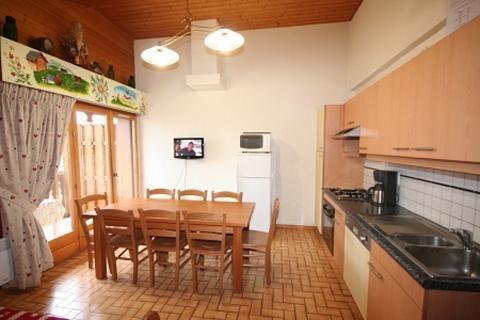 Vacaciones en montaña Apartamento dúplex 4 piezas 8 personas (6) - Résidence le Balcon des Alpes - Châtel - Kitchenette