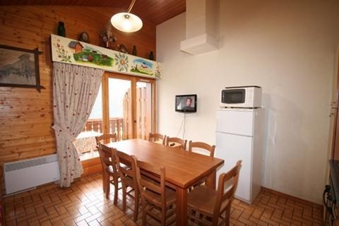 Vacaciones en montaña Apartamento dúplex 4 piezas 8 personas (6) - Résidence le Balcon des Alpes - Châtel - Mesa