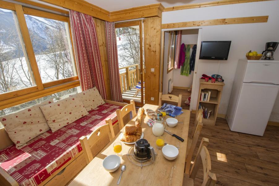 Vacances en montagne Residence Le Balcon Des Neiges - Saint Sorlin d'Arves - Banquette