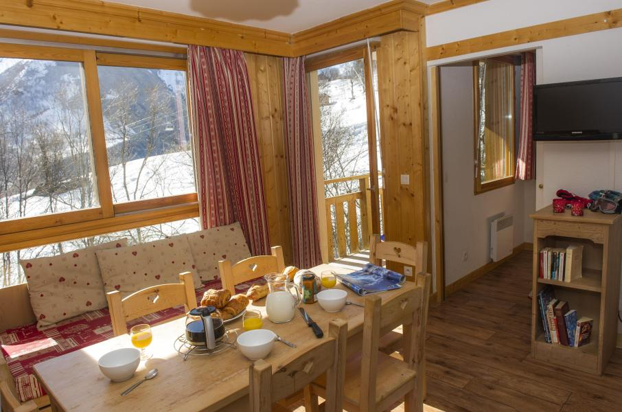 Vacances en montagne Residence Le Balcon Des Neiges - Saint Sorlin d'Arves - Coin repas