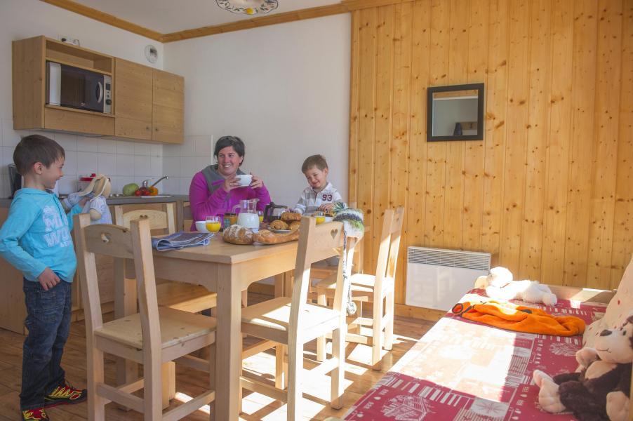 Vacances en montagne Residence Le Balcon Des Neiges - Saint Sorlin d'Arves - Cuisine