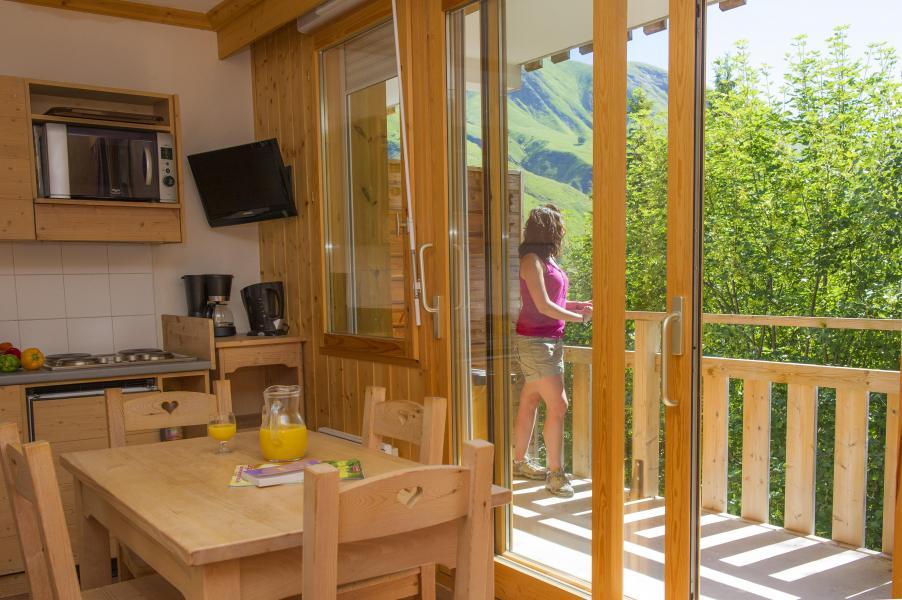 Vacances en montagne Résidence le Balcon des Neiges - Saint Sorlin d'Arves - Cuisine ouverte