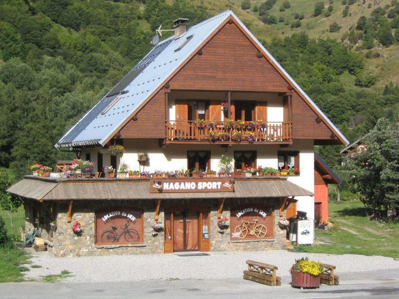 Аренда на лыжном курорте Résidence le Barillon - Valloire - летом под открытым небом
