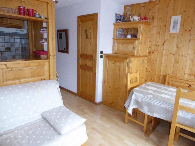 Vacaciones en montaña Apartamento 3 piezas para 4 personas (24) - Résidence le Barioz - Pralognan-la-Vanoise - Sofá-cama