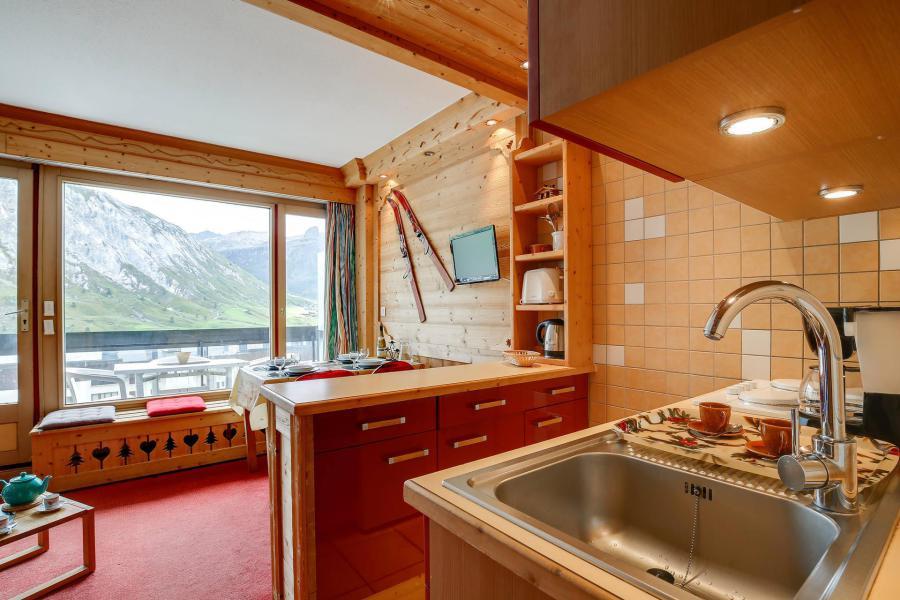 Vacances en montagne Studio 4 personnes (542) - Résidence le Bec Rouge - Tignes - Cuisine