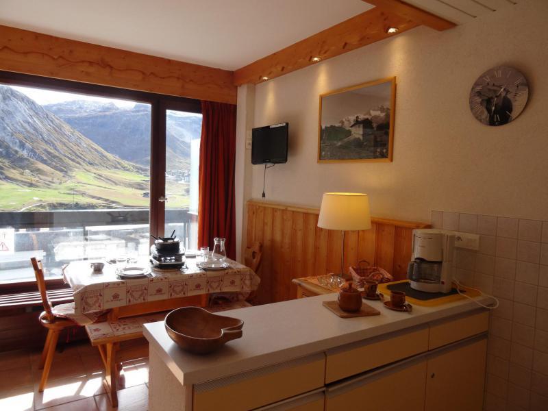 Vacances en montagne Studio coin montagne 4 personnes (862) - Résidence le Bec Rouge - Tignes - Séjour