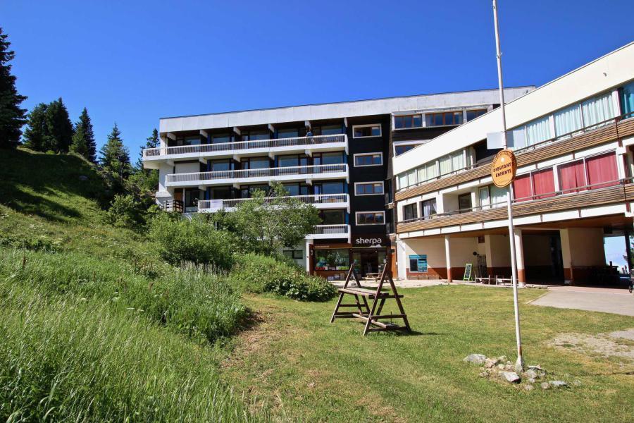 Vacances en montagne Résidence le Bellevue - Chamrousse - Extérieur été