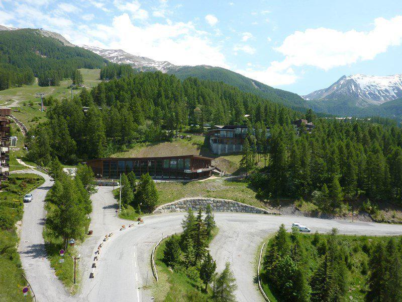 Location au ski Studio coin montagne 6 personnes (283) - Résidence le Belvédère - Les Orres - Extérieur été